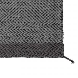 PLY dark grey rug