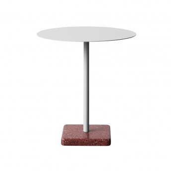 TERRAZZO table light grey
