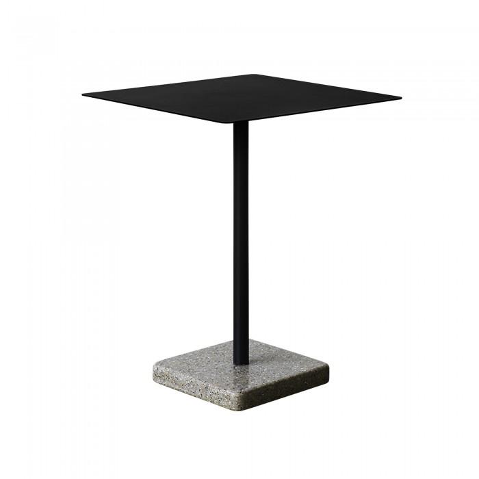 Table TERRAZZO charbon