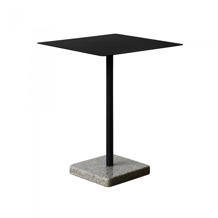 TERRAZZO table charcoal