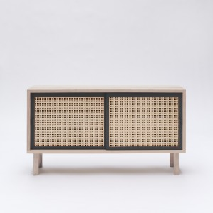 STRAW sideboard anthracite