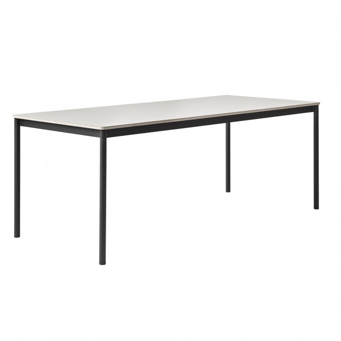 Table BASE noir/blanc