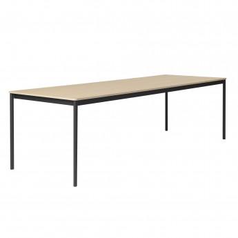 Table BASE chêne/noir