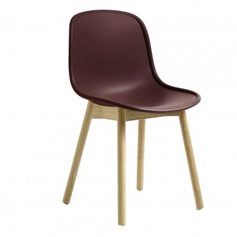 NEU 13 chair burgundy oak base