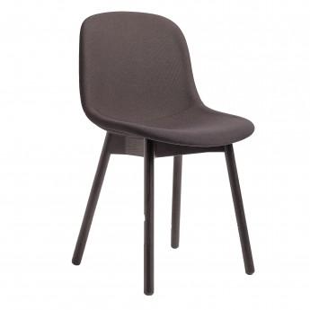Chaise NEU 13 tapissée bordeaux