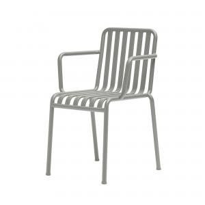 PALISSADE arm chair light grey