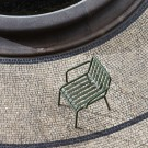 PALISSADE arm chair olive