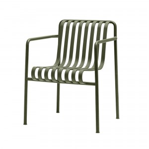 Fauteuil large PALISSADE olive