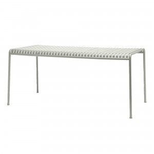 Table PALISSADE gris clair M