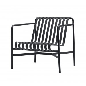 PALISSADE lounge chair low anthracite