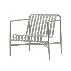 PALISSADE lounge chair low light grey