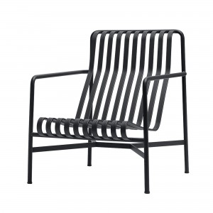 PALISSADE lounge chair high anthracite
