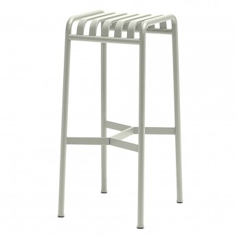 PALISSADE stool light grey