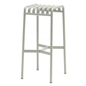 PALISSADE bar stool light grey
