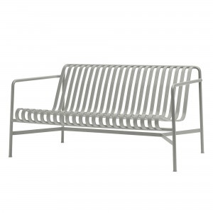 Lounge sofa PALISSADE gris clair