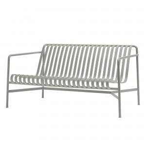 Lounge sofa PALISSADE gris clair