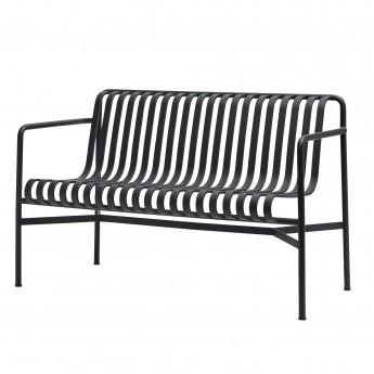 PALISSADE dining bench light grey
