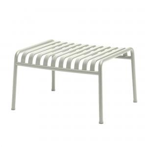 PALISSADE foot stool light grey