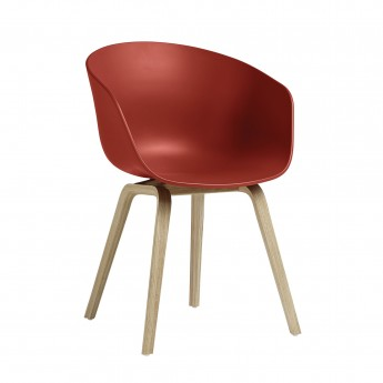 Chaise AAC 22 warm red