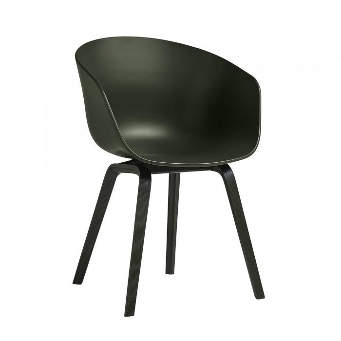 Chaise AAC 22 vert piétement vert