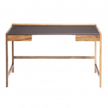 CEDRIC desk brown leather