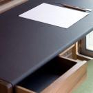 Bureau CEDRIC cuir marron