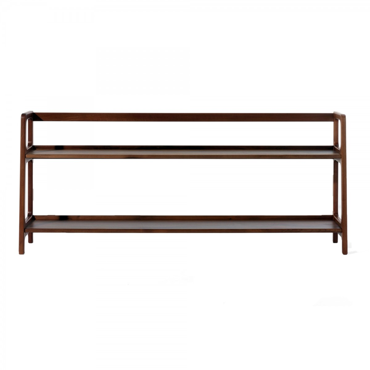 etagere noyer leaf low walnut tree shelf habitat etagere pierre vandel ronce de noyer ebay. Black Bedroom Furniture Sets. Home Design Ideas