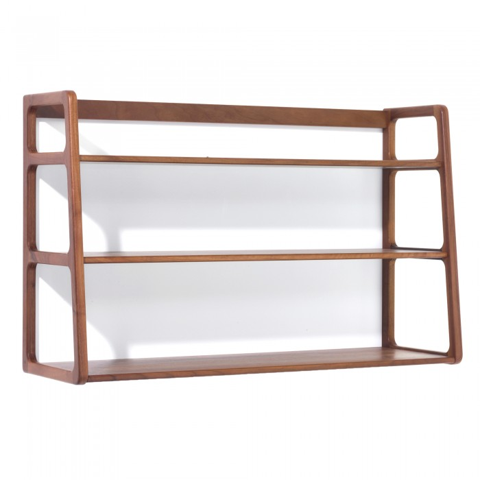 Etagere Murale Agnes Noyer Scp Furniture