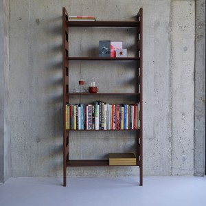 PARALLEL shelving system rust option 1