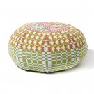 Pouf ERNEST FIELD DAY spring reverse