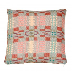 Coussin BORA pink slate reverse