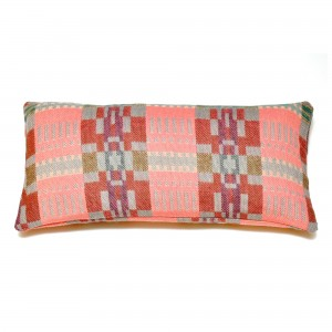 Coussin rectangulaire BORA pink slate