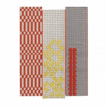 BANDAS rugs orange