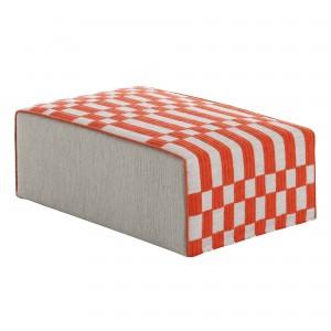 BANDAS pouf M orange