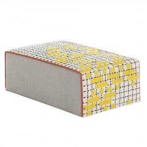 BANDAS pouf M yellow
