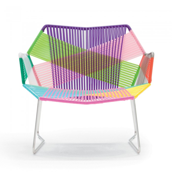 TROPICALIA low armchair carnival