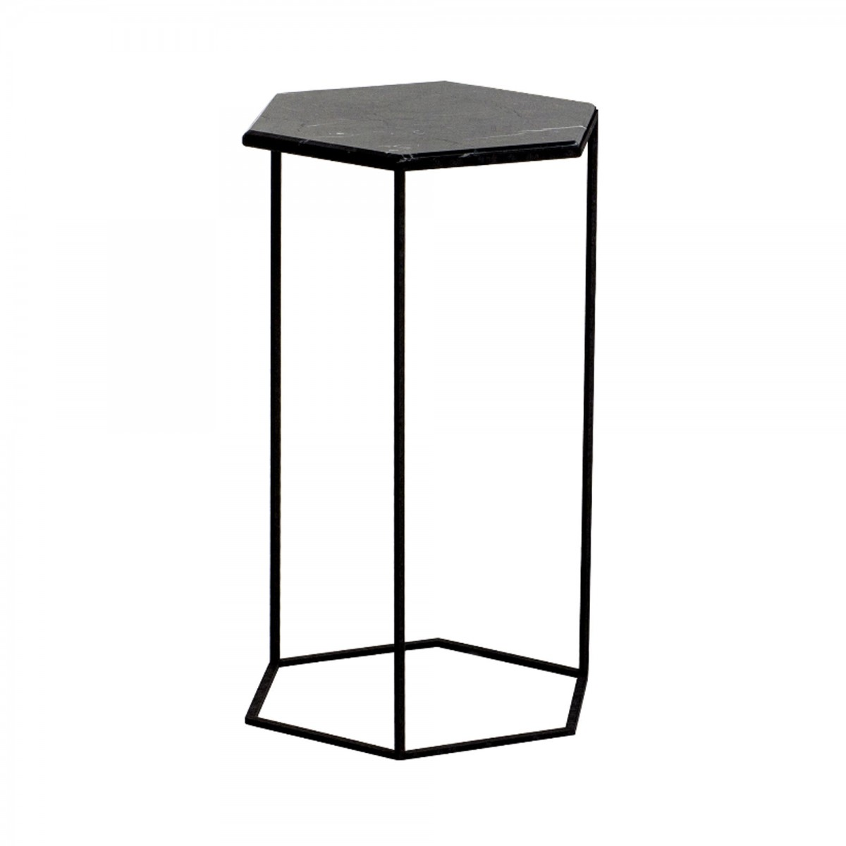 table hexxed marbre noir diesel x moroso. Black Bedroom Furniture Sets. Home Design Ideas