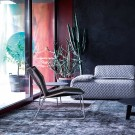 TROPICALIA low armchair black
