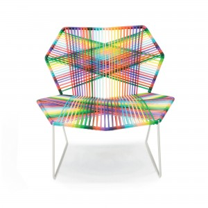 TROPICALIA low armchair melange