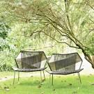 TROPICALIA low armchair melange