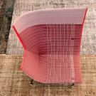 PAPER PLANES high armchair corail
