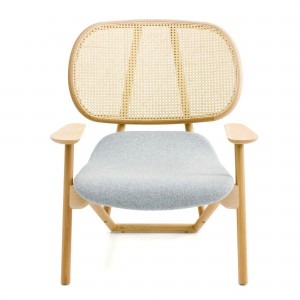 KLARA armchair back in cane and beech