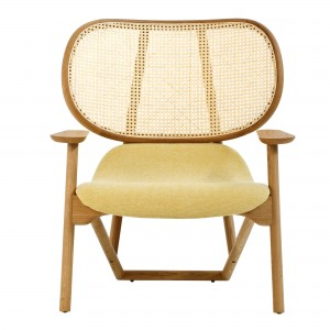 KLARA armchair back in cane and oak
