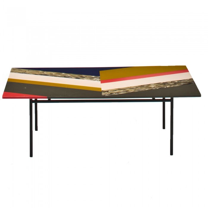 Table basse M.A.S.S.A.S/FISHBONE L