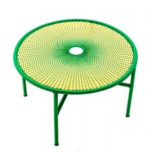 Table basse BANJOOLI L jaune/vert
