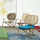 KLARA armchair back in cane