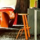 BULL bar stool oxidored