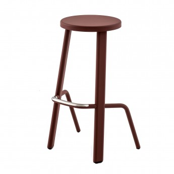 BULL bar stool oxidored