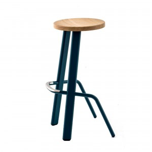 BULL bar stool blue