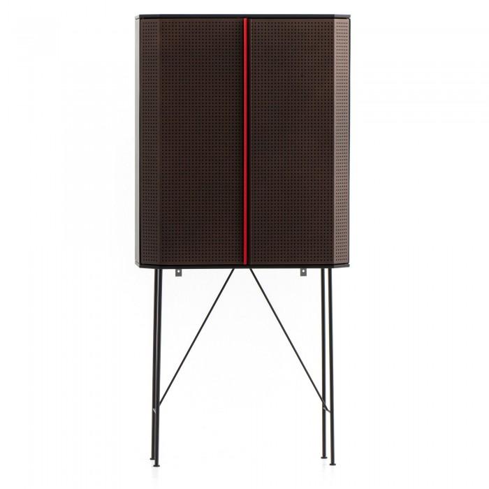 PERF bar cabinet copper